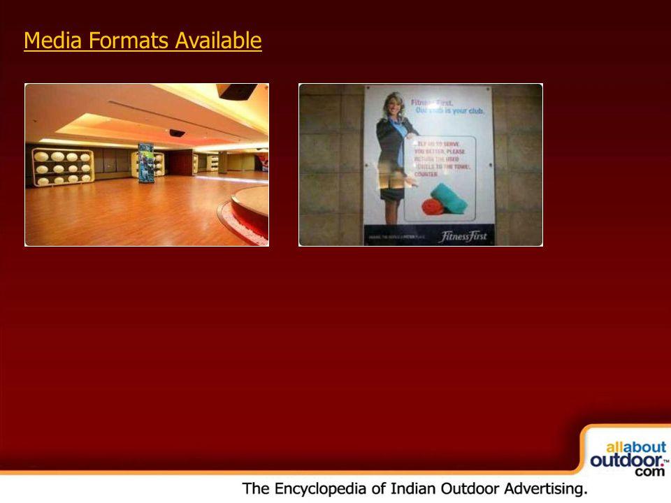 OOH Media Portfolio Network: Kolkata Media Formats Available