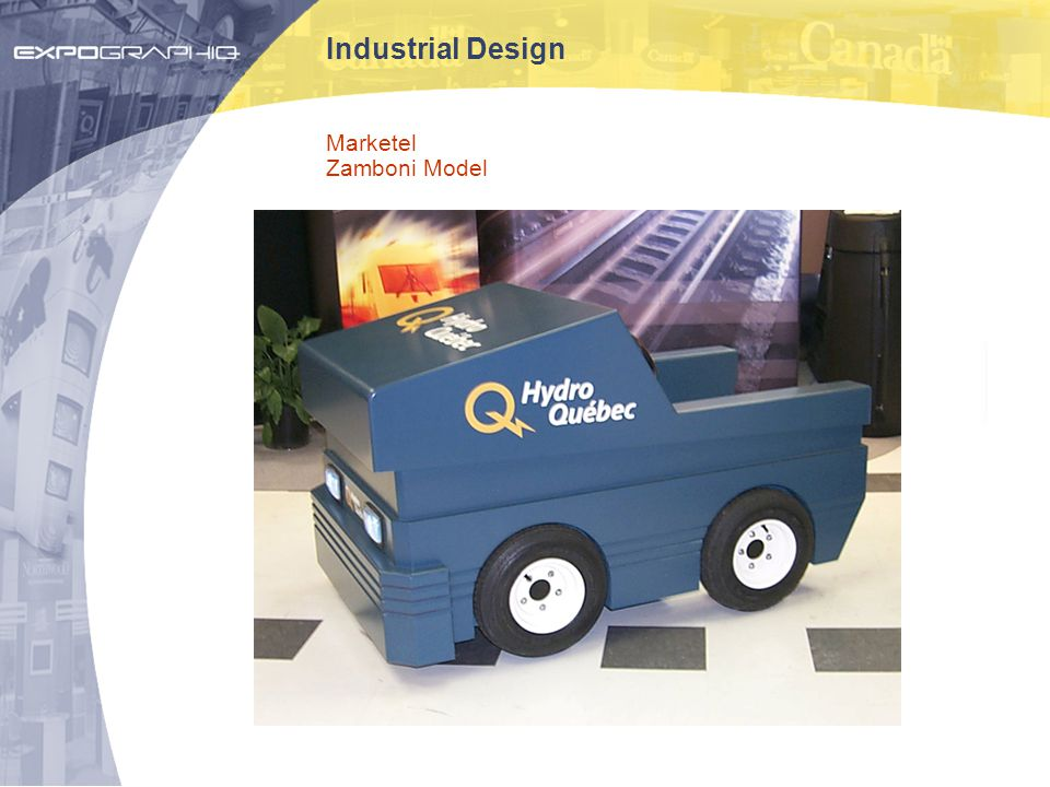 Industrial Design Marketel Zamboni Model