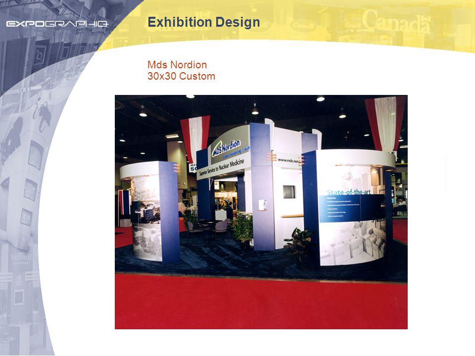 Exhibition Design Mds Nordion 30x30 Custom