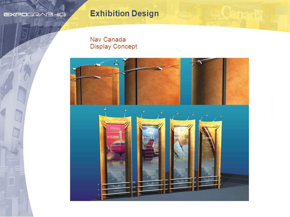 Exhibition Design Nav Canada Display Concept
