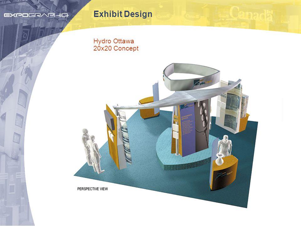 Exhibit Design Hydro Ottawa 20x20 Concept