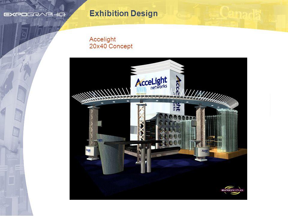 Exhibition Design Accelight 20x40 Concept