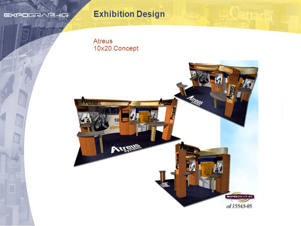 Exhibition Design Atreus 10x20 Concept
