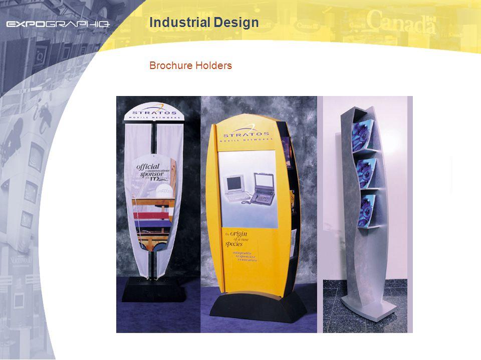 Industrial Design Brochure Holders