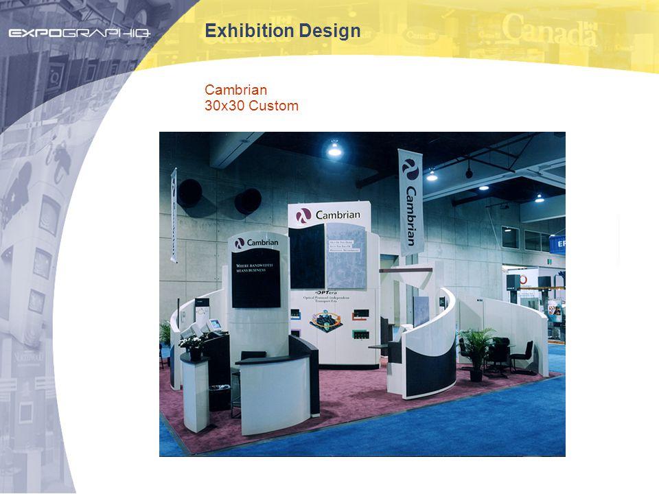 Exhibition Design Cambrian 30x30 Custom