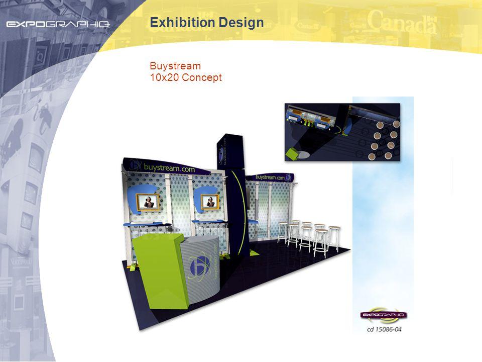 Exhibition Design Buystream 10x20 Concept