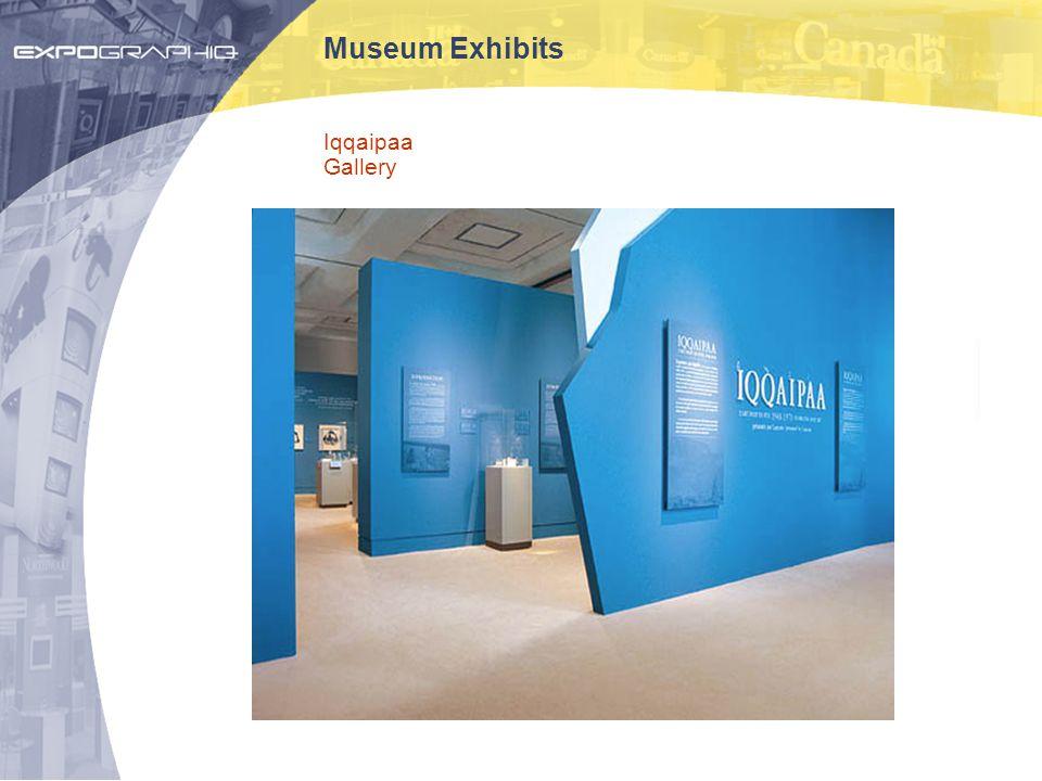 Museum Exhibits Iqqaipaa Gallery