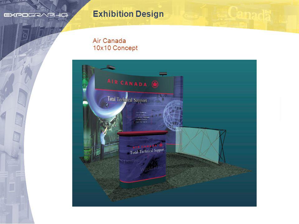 Exhibition Design Air Canada 10x10 Concept