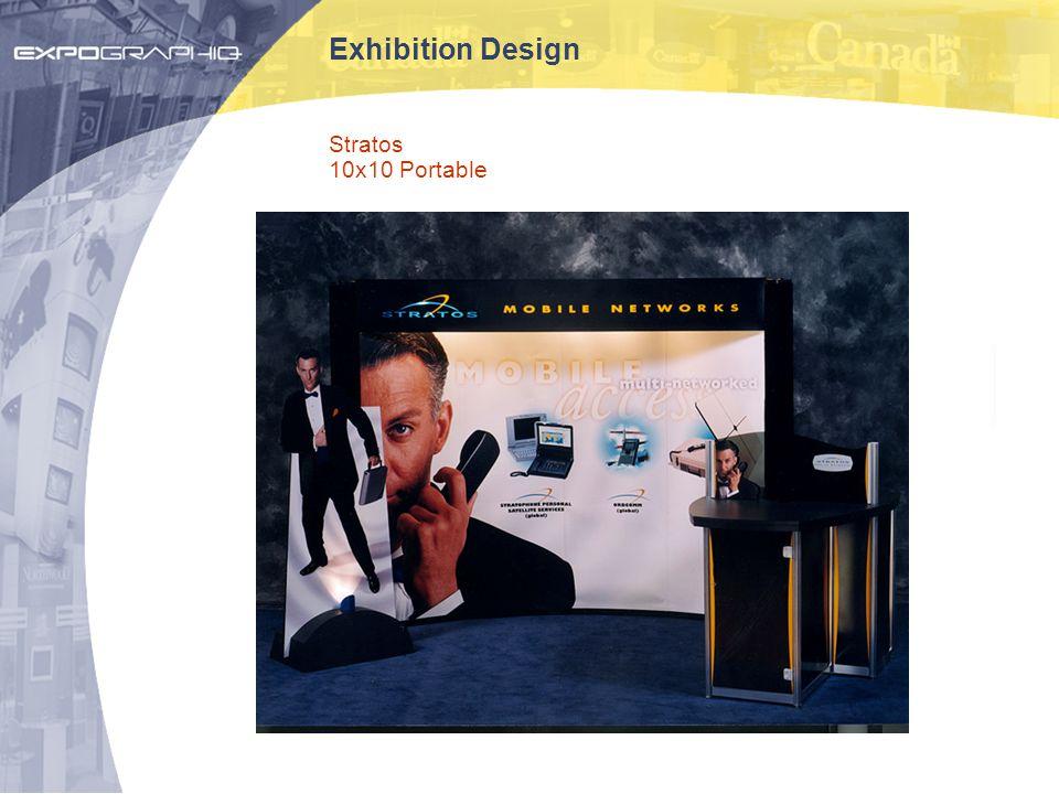 Exhibition Design Stratos 10x10 Portable