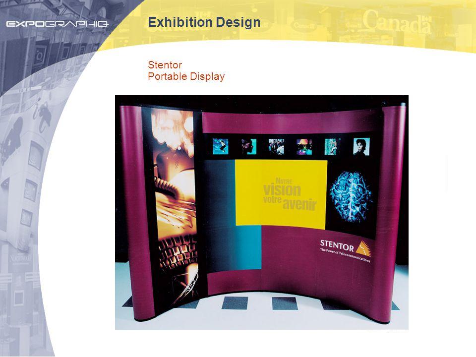 Exhibition Design Stentor Portable Display