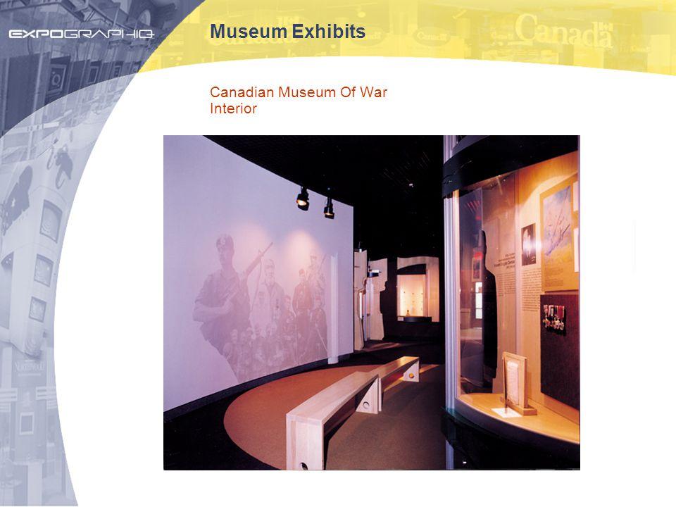 Museum Exhibits Canadian Museum Of War Interior