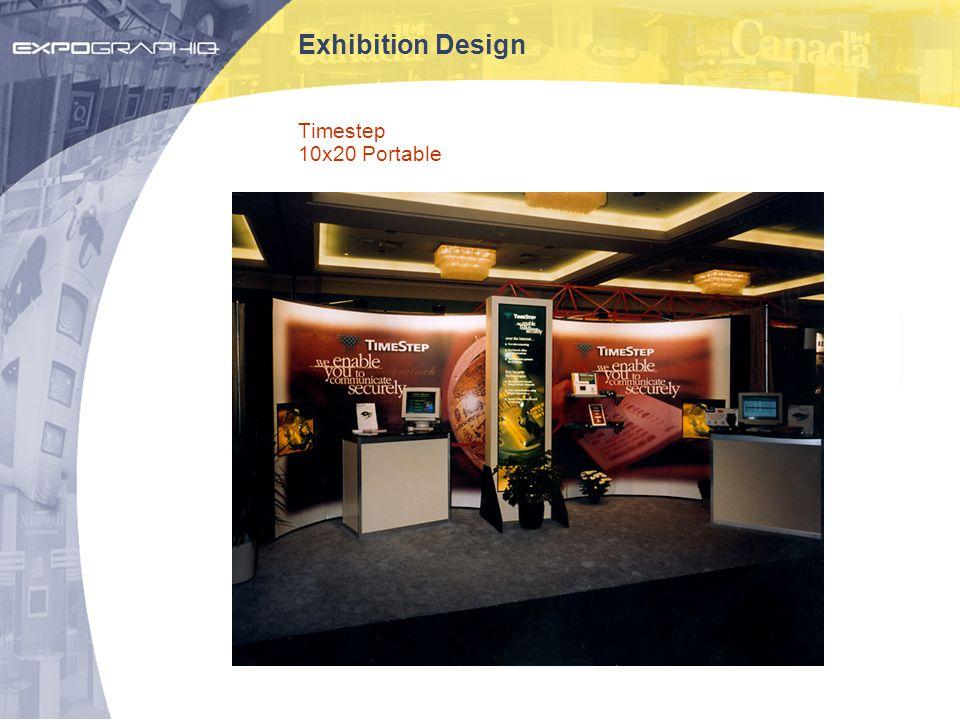 Exhibition Design Timestep 10x20 Portable