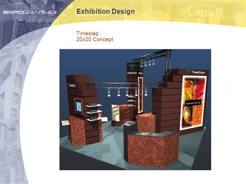 Exhibition Design Timestep 20x20 Concept