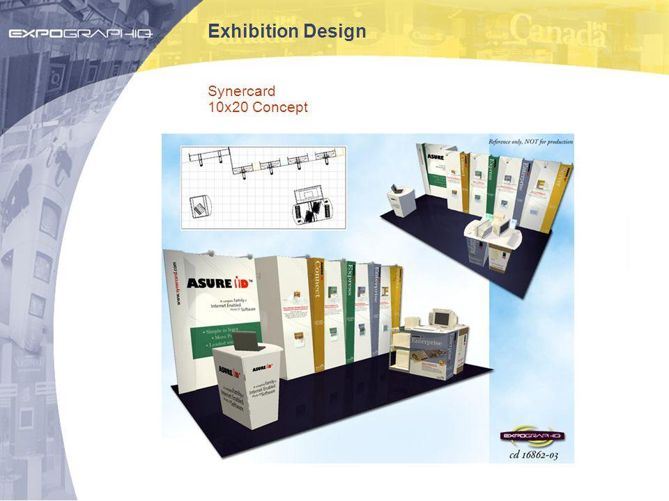 Exhibition Design Synercard 10x20 Concept