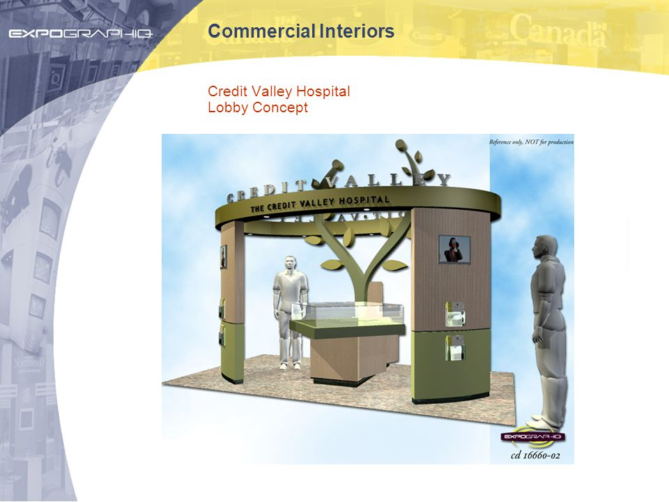 Commercial Interiors Credit Valley Hospital Lobby Concept