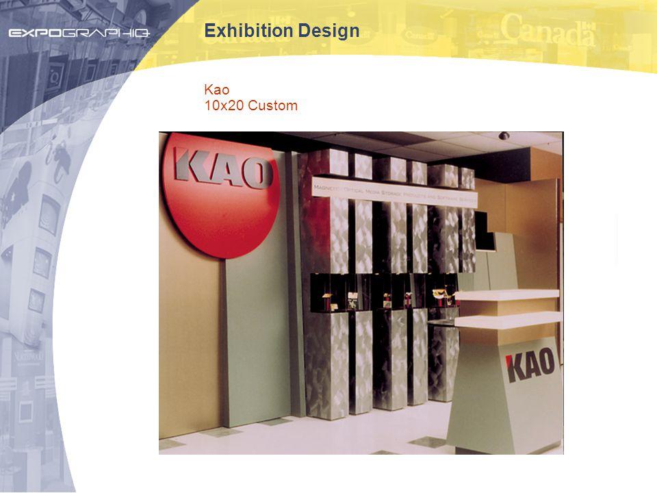 Exhibition Design Kao 10x20 Custom