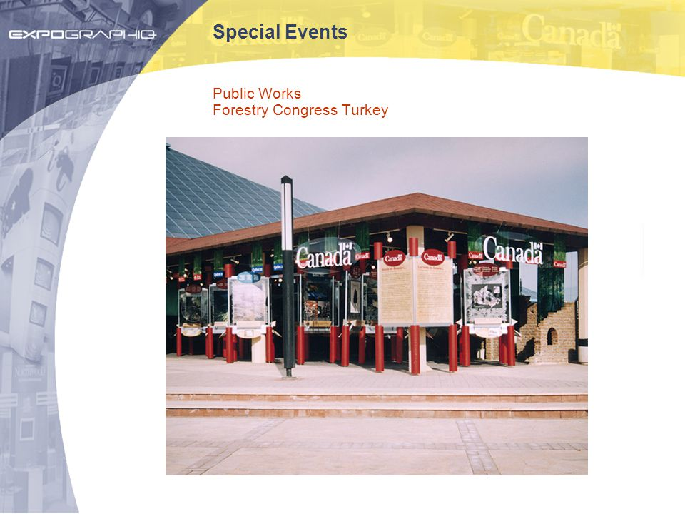 Special Events Public Works Forestry Congress Turkey
