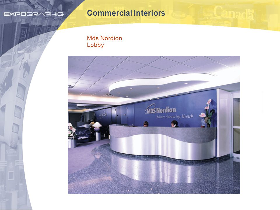 Commercial Interiors Mds Nordion Lobby