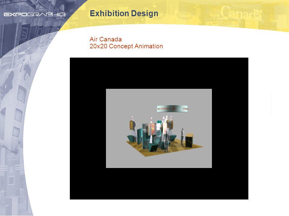 Exhibition Design Air Canada 20x20 Concept Animation