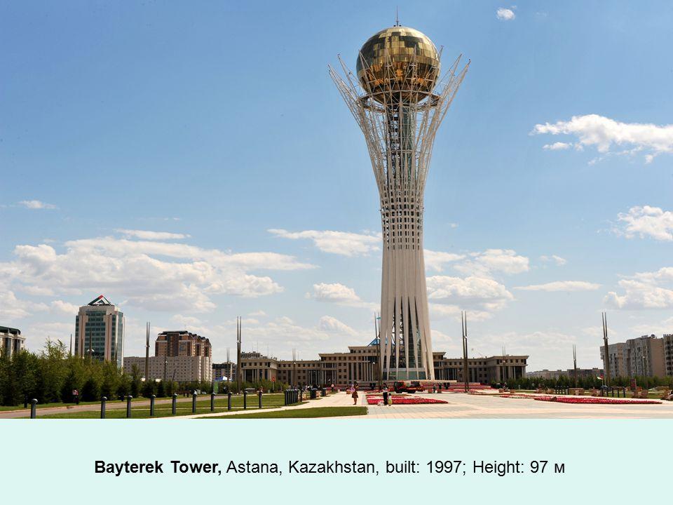 Aspire Tornado Tower, Doha, Qatar, built: 2006; Height: 300 м