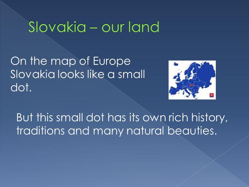 Slovakia has 44 caves