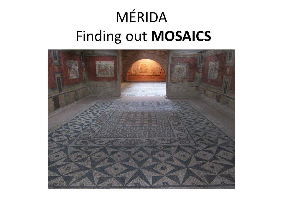MÉRIDA Finding out MOSAICS