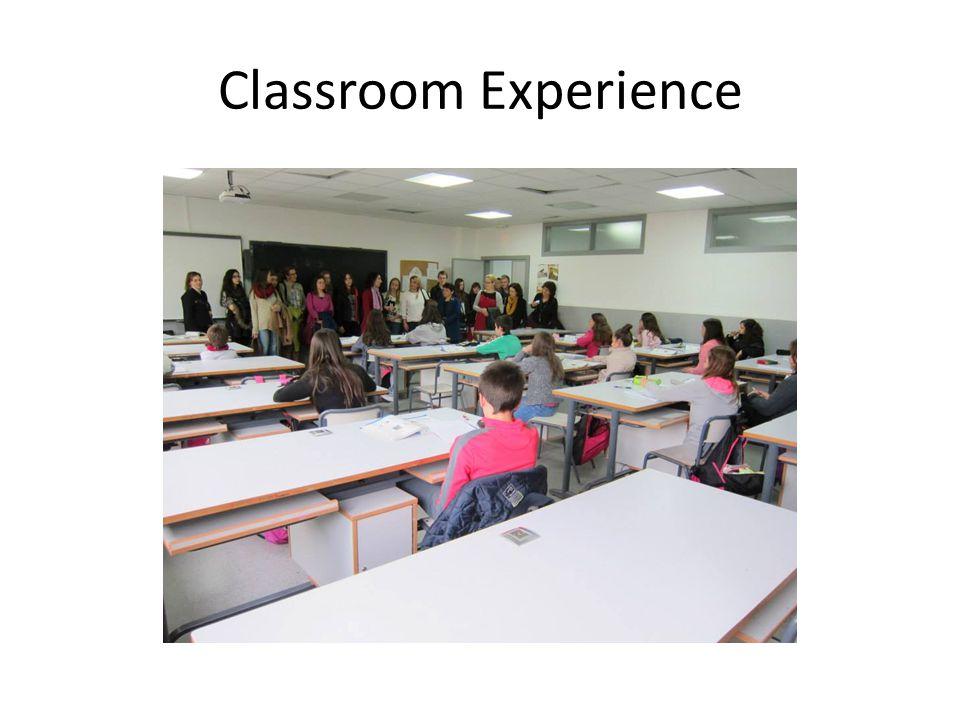 Classroom Experience
