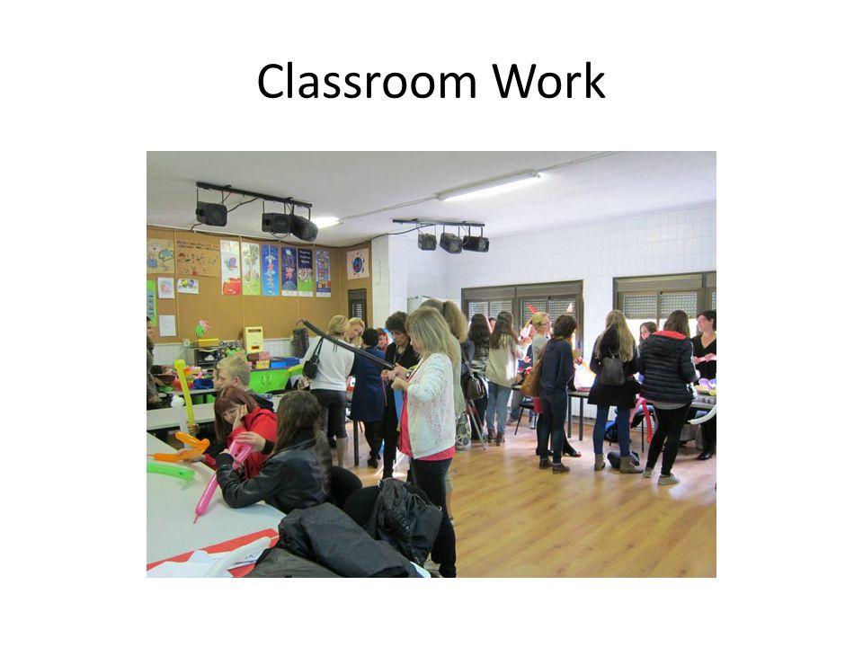 Classroom Work