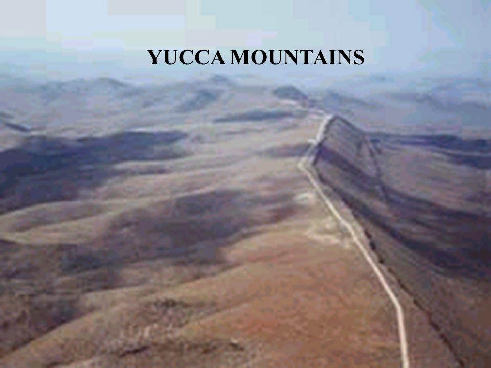 YUCCA MOUNTAINS