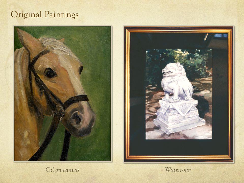 Painting Restoration Frame Restoration & Gold Leafing