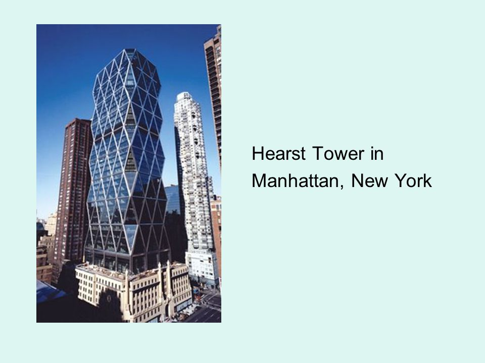 Hearst Tower in Manhattan, New York