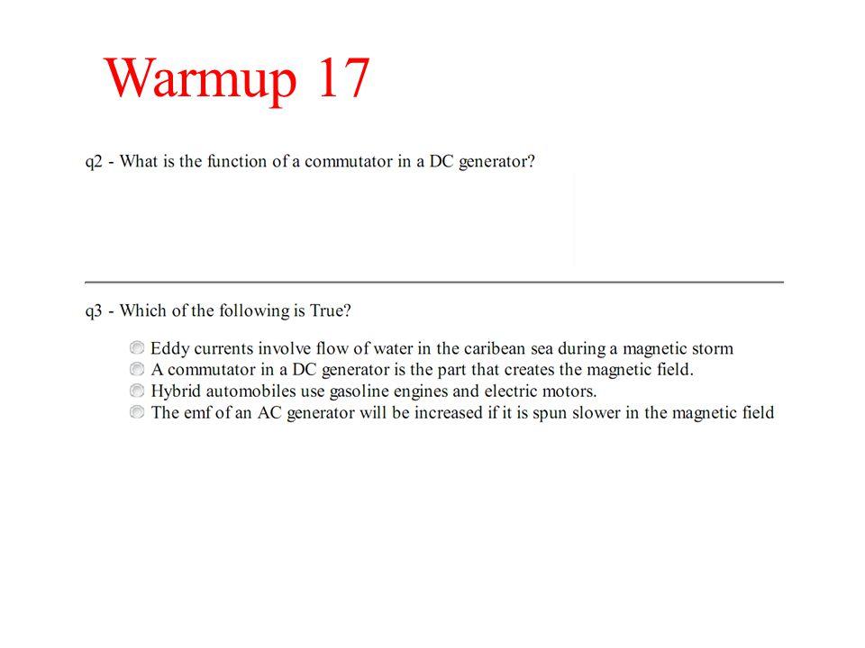 Warmup 17