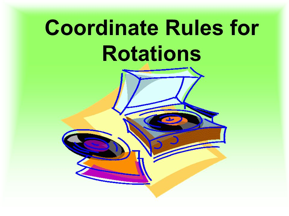 Coordinate Rules for Rotations