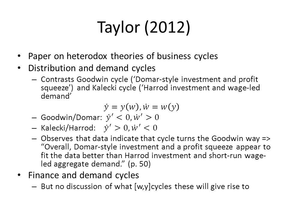 Taylor (2012)