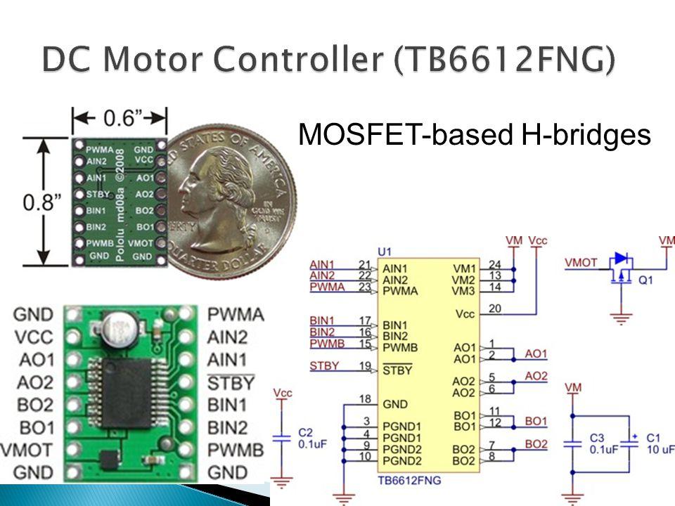 MOSFET-based H-bridges