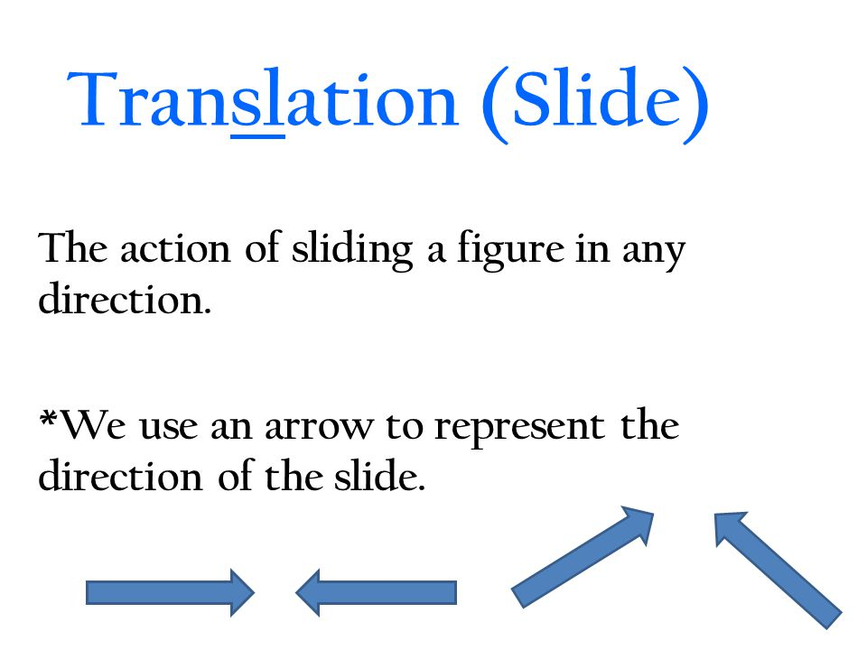 Counter-Clockwise Rotations 90 Degree Rotation: 180 Degree Rotation: