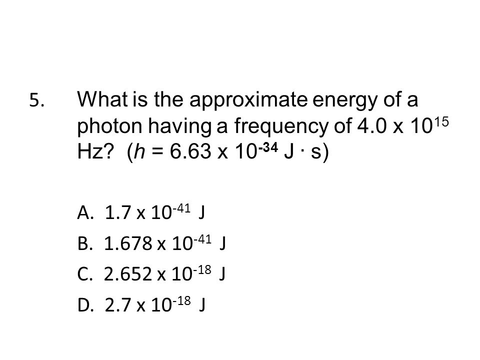 26. What are quanta of light called? A. quantums B. photons C. electrons D. radiation