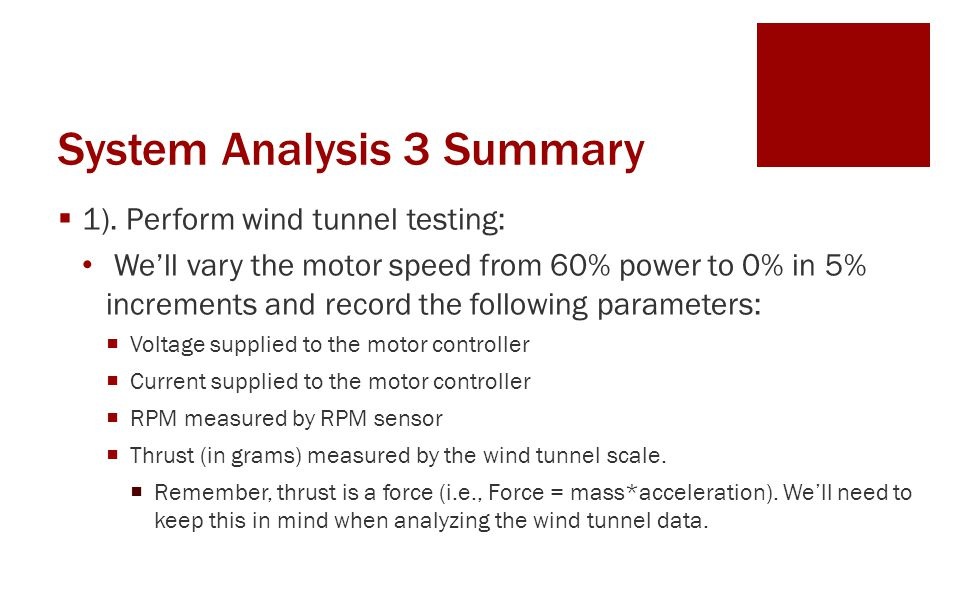 System Analysis 3 Summary  1).