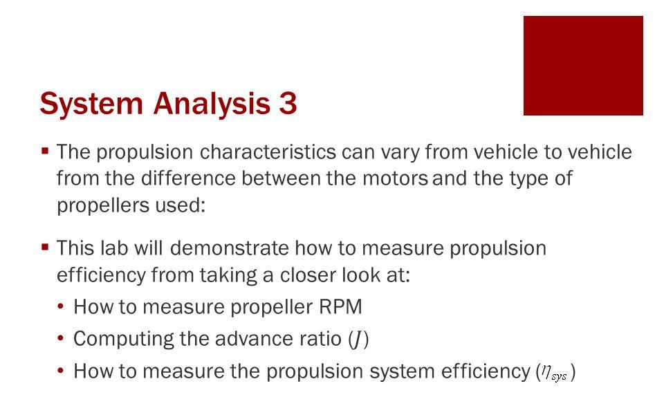 System Analysis 3