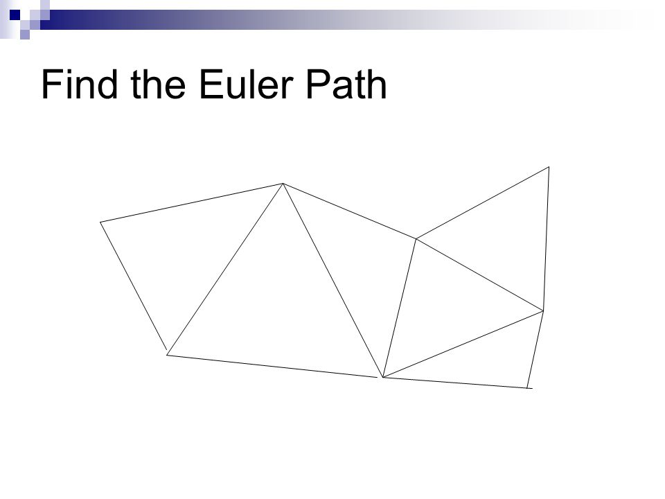 Find the Euler Path