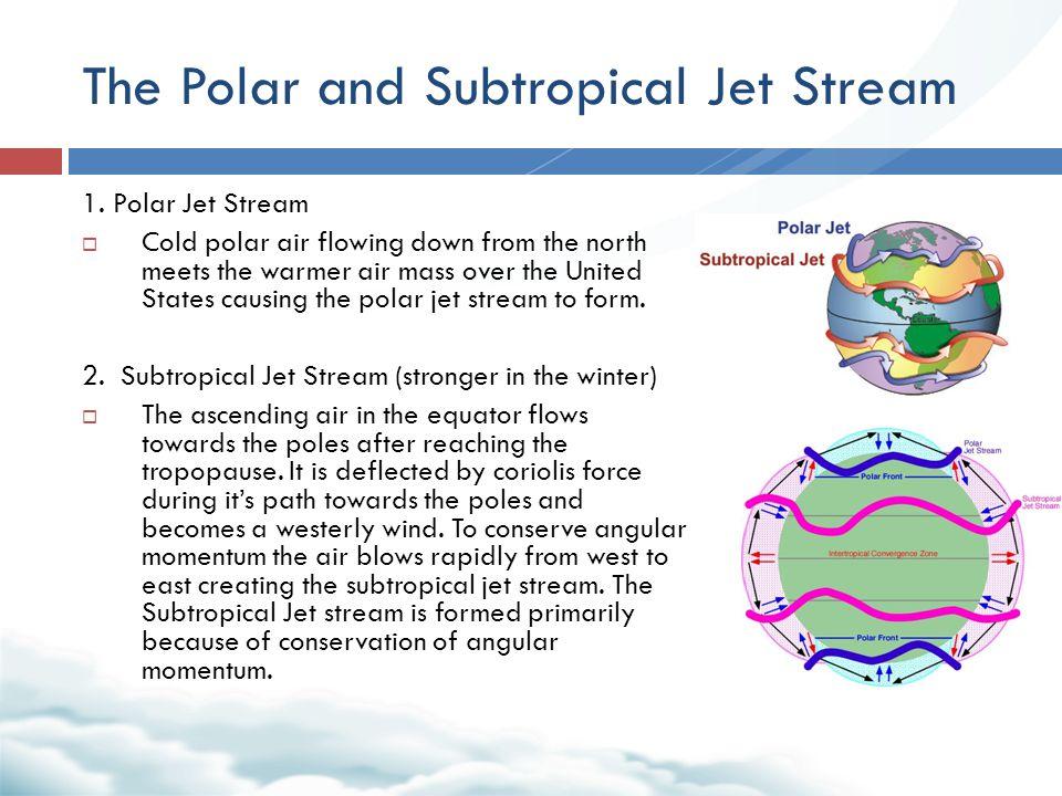 The Polar and Subtropical Jet Stream 1.