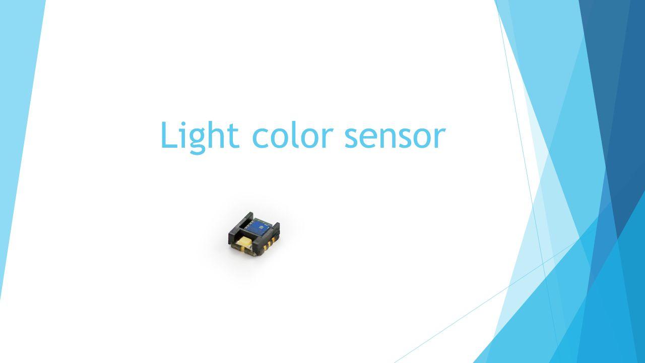 Light color sensor