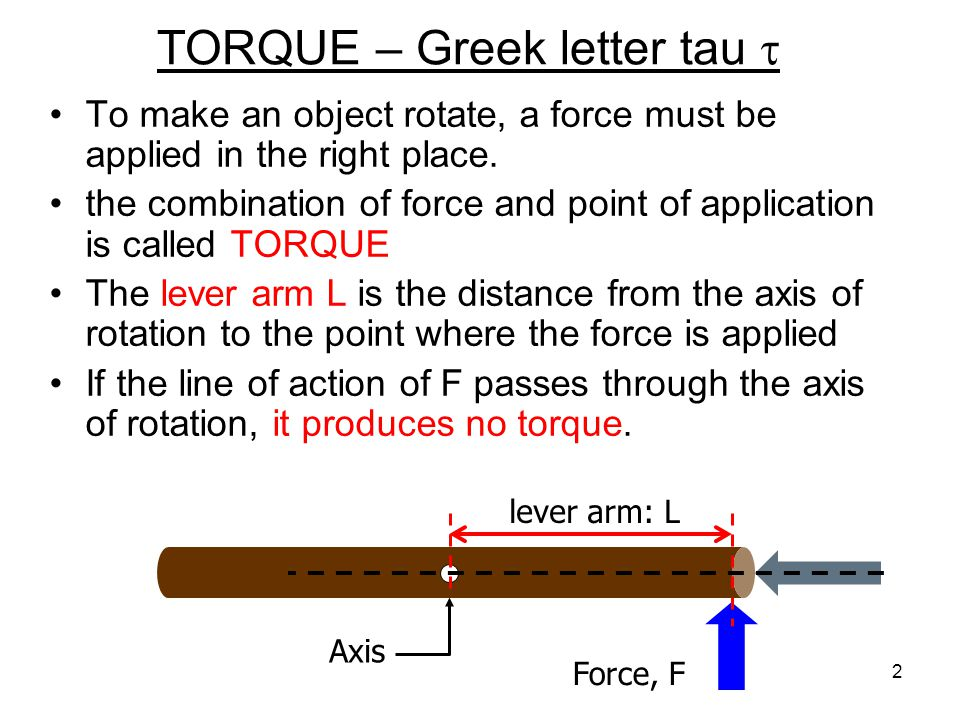 L-10(M-9) torque and rotational inertia We consider the rotation of rigid bodies.