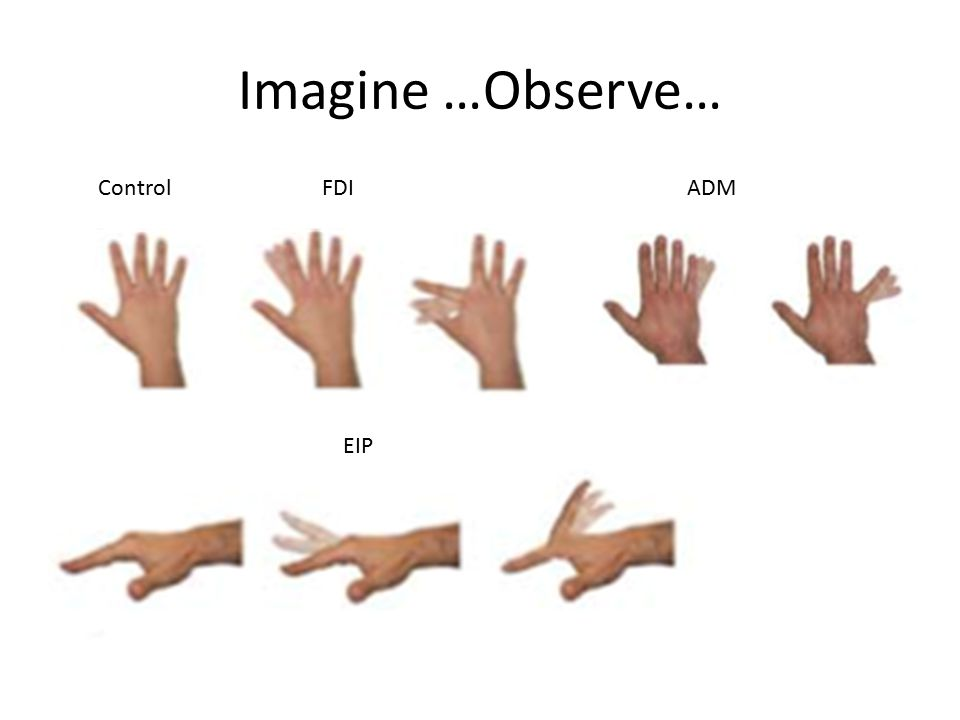 Imagine …Observe… FDIADM EIP Control