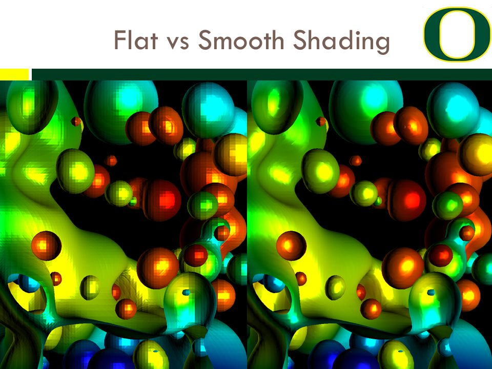 Flat vs Smooth Shading