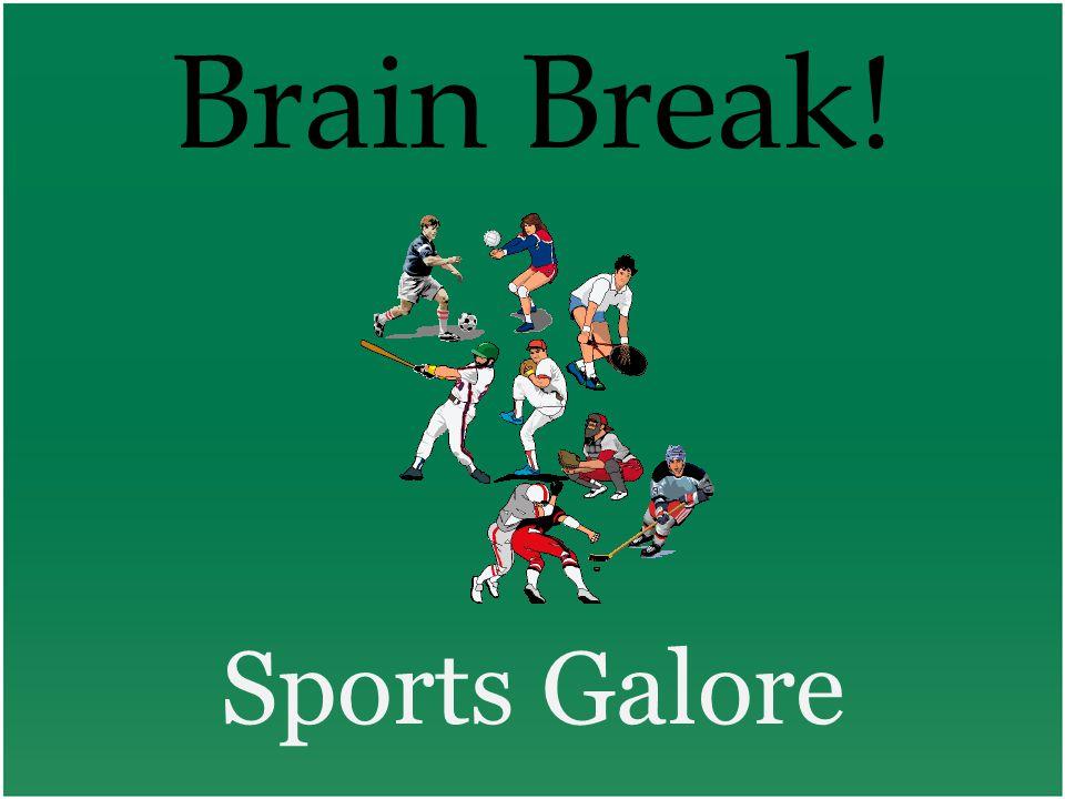Brain Break! Sports Galore