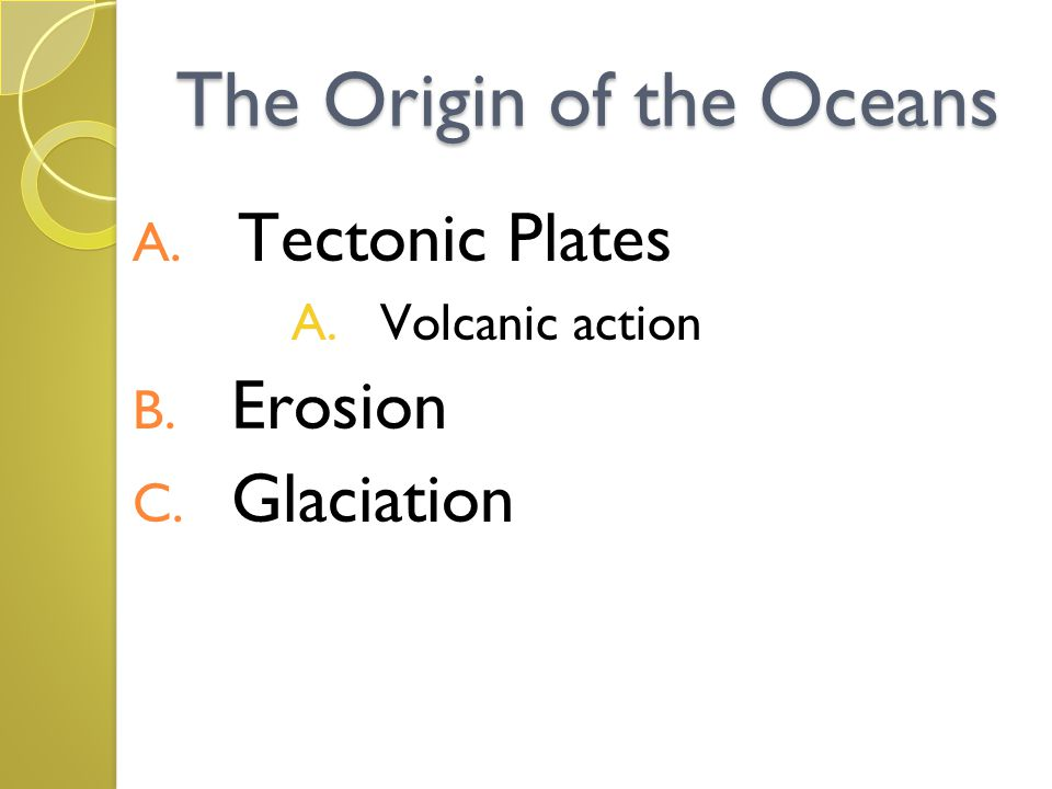 Factors that affect the interaction of waves and tides on the shorelines are: 1.