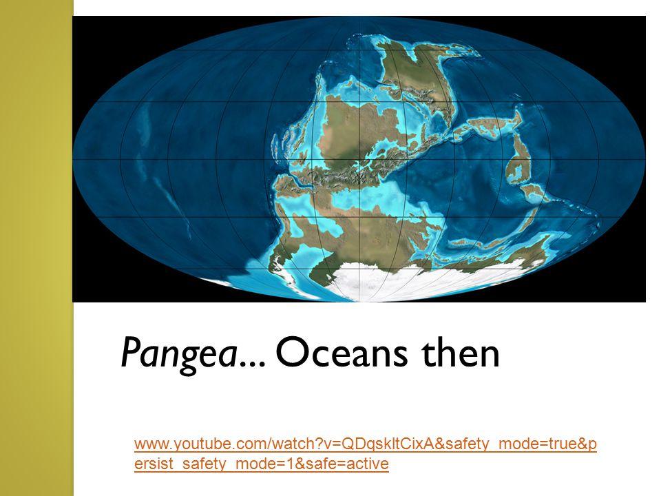 Ocean Currents...