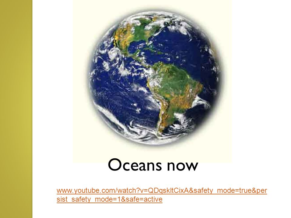 2 Types of Ocean Currents...1. Surface currents 2.
