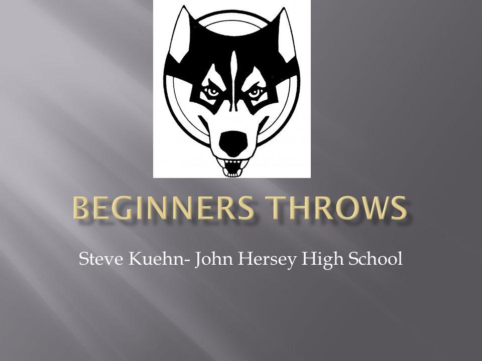 Steve Kuehn- John Hersey High School